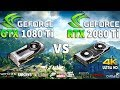 RTX 2080 Ti vs GTX 1080 Ti Test in 8 Games 4K (i7 8700k)