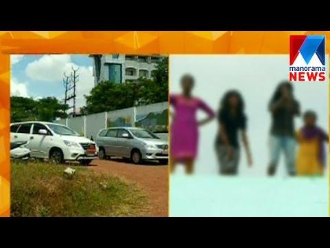 Alleging torture, girls threaten to jump off terrace. | Manorama News