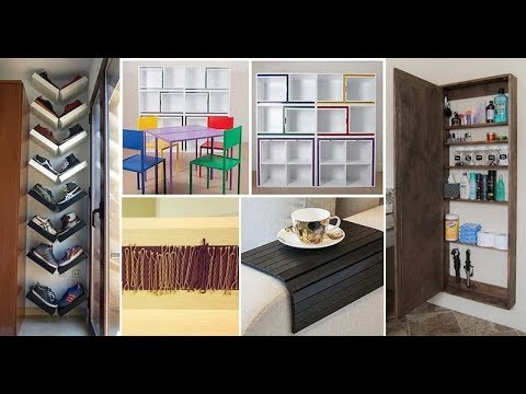 Best 60 + Space Saving Ideas Home Great Ideas 2018 - Home Decorating Ideas