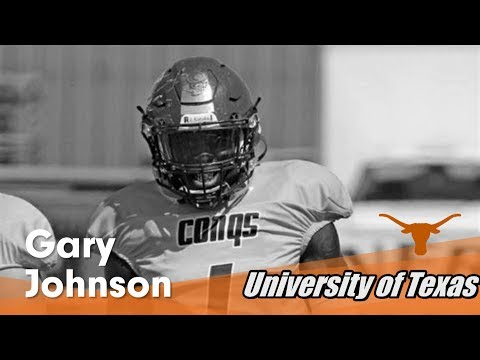 2017- Street Light Recruiting JUCO-LB- Gary Johnson **D-1 Signee-TEXAS**
