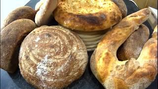 Что происходит в пекарне ночью / Хлеб на закваске / Выпечка хлеба
