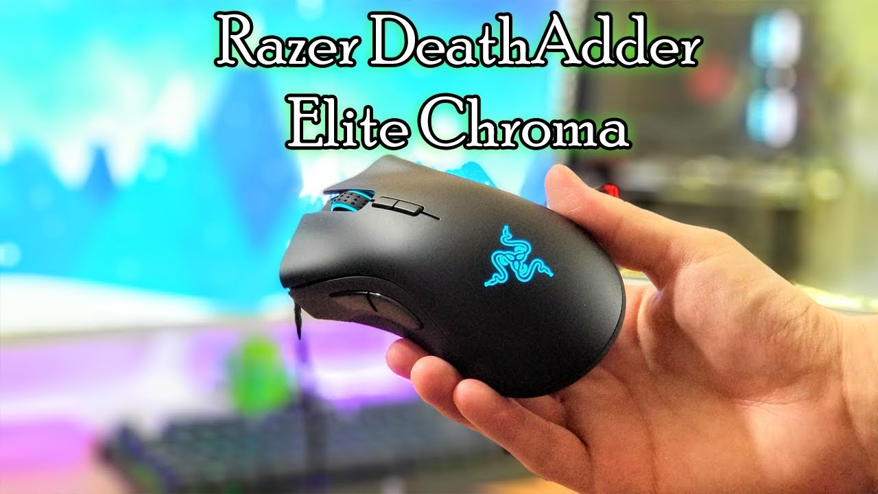 Razer DeathAdder Elite Chroma Unboxing and First Impressions
