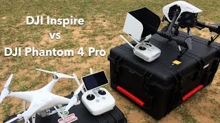 DJI Inspire vs Phantom 4 Pro