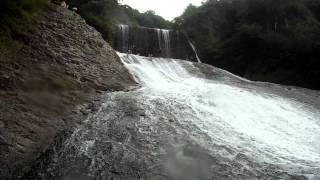 Jym - Huge Natural Rock Slide and Waterfall - Japan