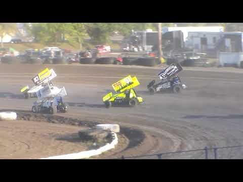 Nodak Speedway Sprint Car Heats (Motor Magic Night #2) (9/3/17)