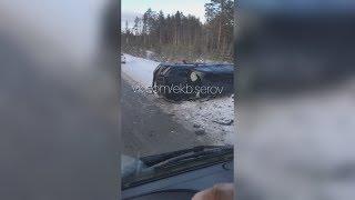 """Крузак"" на встречке легковушку подбил"