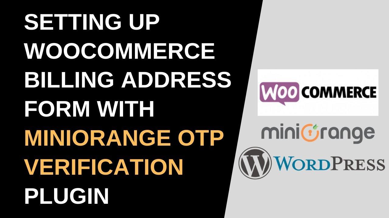 Otp Verification Woocommerce Plugin