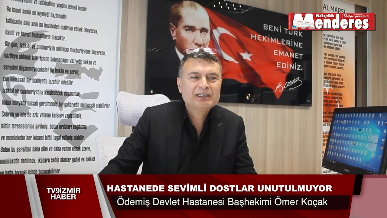 HASTANEDE SEVİMLİ DOSTAR UNUTULMUYOR