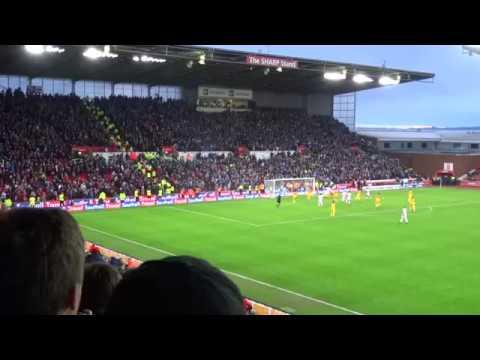 Stoke City - Charlie Adam Penalty Miss vs. Brighton