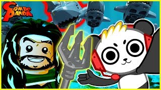 NEW LEGO DC VILLIANS Aquaman Season Pass Let's Play with Combo Panda in New York