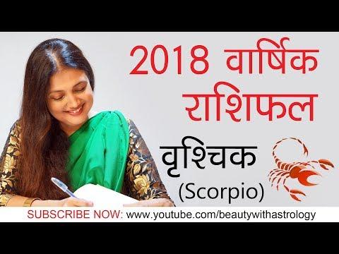 SCORPIO FREE HOROSCOPE 2018# VRISHCHIK RASHI 2018