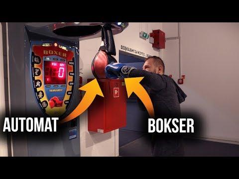 AUTOMAT BOXER vs. PRAWDZIWY BOKSER | Jak to działa ?