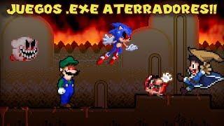 Probando Videojuegos Aterradores .EXE con Pepe el Mago