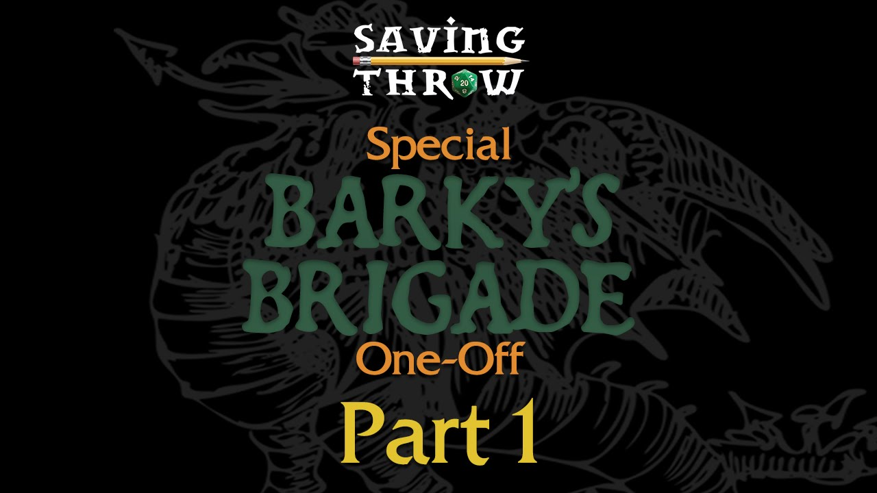 Barky's Brigade - LEVEL 20 Tarrasque Fight, Part 1 - One-off RPG Actual  Play from 24Hour Marathon