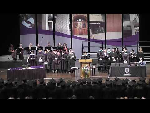 University of Sioux Falls 2017 Graduate Commencement