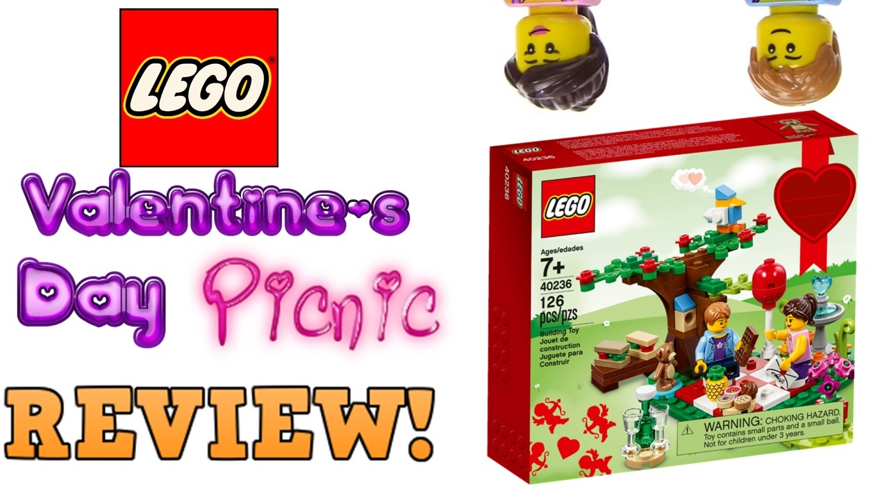 LEGO 40236 Valentines Day Picnic Review 2017 Seasonal