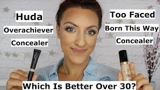 Huda Beauty Overachiever Concealer | Better Than Too Faced?