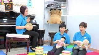 Orff 奧福音樂示範教學 -幼兒音樂遊戲與彈鋼琴 (附中文字幕)