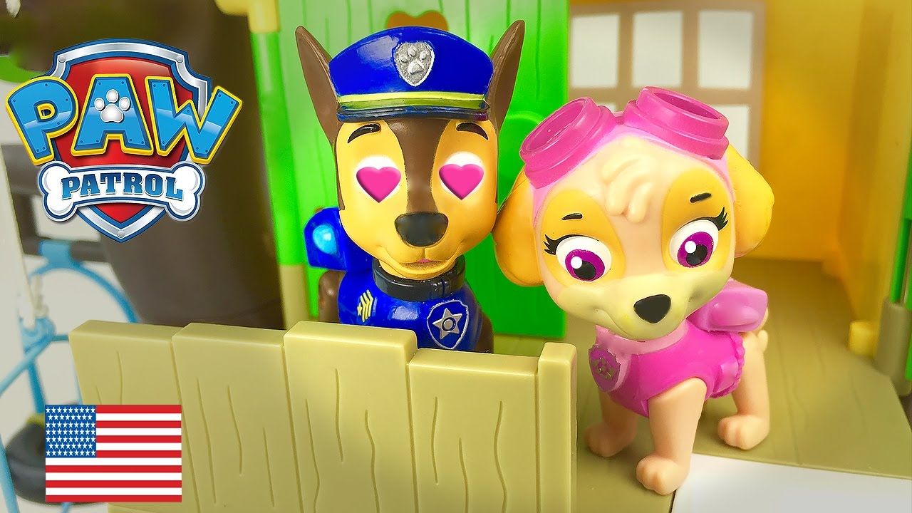 Download Paw Patrol Love Story Chase and Skye in love Full Episode English La Pat Patrouille
