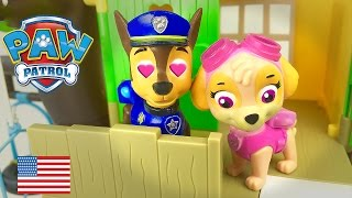 Paw Patrol Love Story Chase and Skye in love Full Episode English La Pat Patrouille