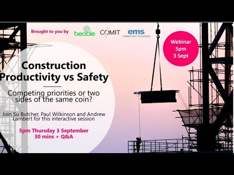 Productivity, Safety And Technology In The Built Environment