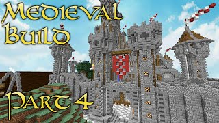 minecraft layout medieval capital build
