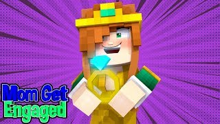 MY MOM GET'S ENGAGED! (Minecraft Little Carly).