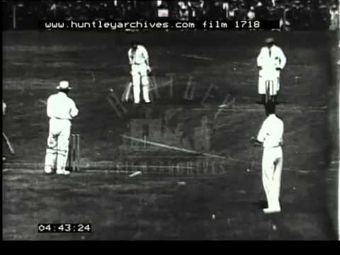 Jack Hobbs Cricket, 1920's - Film 1718