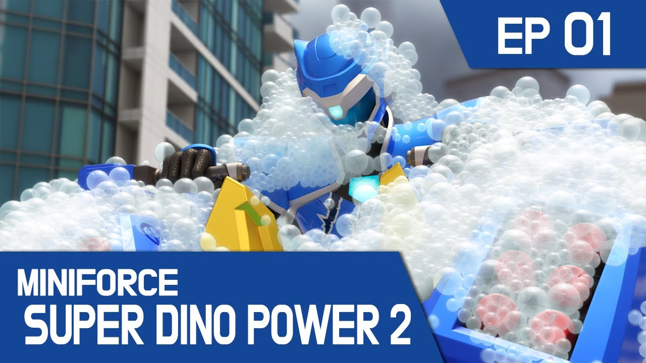 Download [MINIFORCE Super Dino Power2] Ep.01: A New Start With Super Dinos!