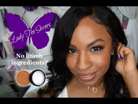 Laws of Nature Cosmetics - Foxy Finish Mineral Loose Foundation (Sienna)