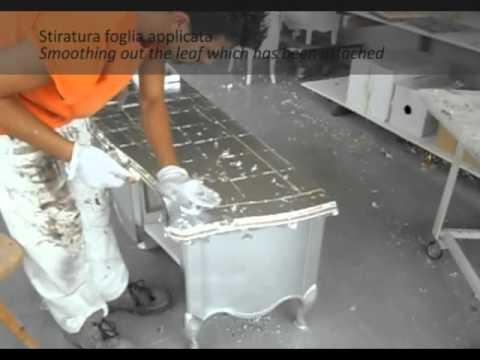 Tosato lavorazione foglia argento.avi   youtube
