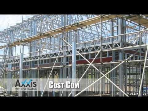 AXXIS Steel for framing - Steel Frame, Light gauge Steel Framing for ...