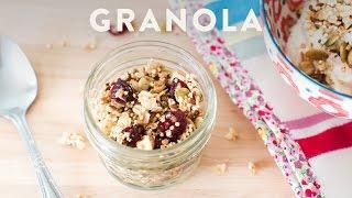 How To Make Homemade Granola - Honeysucklecatering