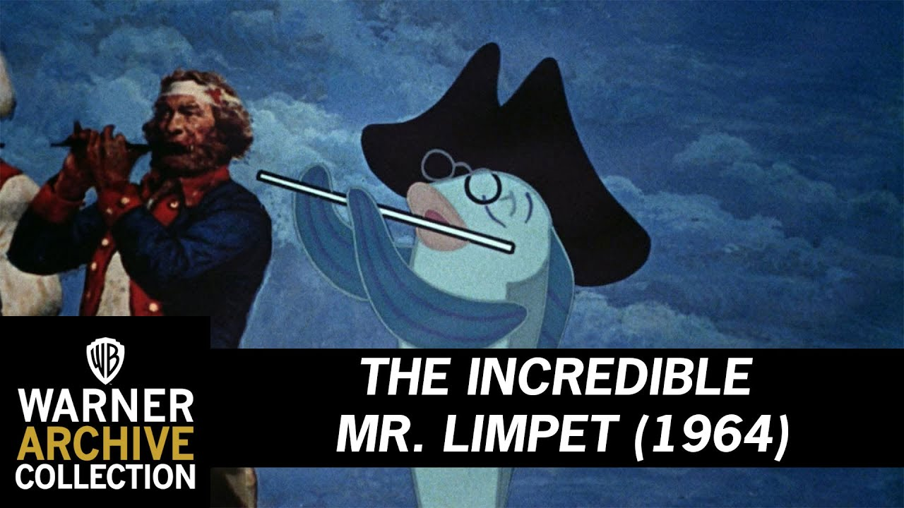 The Incredible Mr Limpet 1964 Super Doodle Dandy Fish
