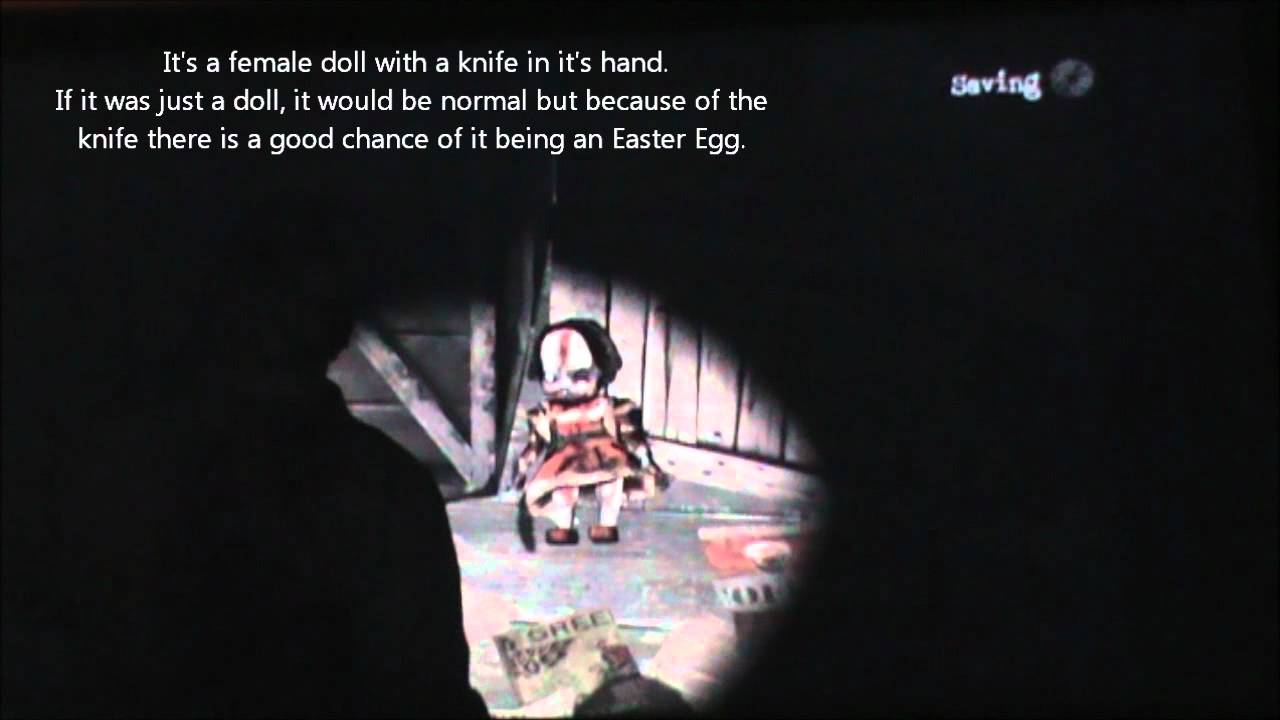 silent hill downpour childs play annabelle easter egg
