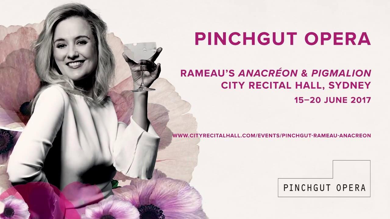 PINCHGUT OPERA   Anacréon, Rameau   Allegra Giagu, mezzo-soprano