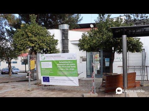 VÍDEO: Avanzan las obras en la red de Centros Sociales Municipales de Lucena
