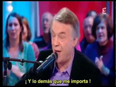 Salvatore Adamo canta a Brassens - J´ai rendez-vous avec vous (Subtitulado)
