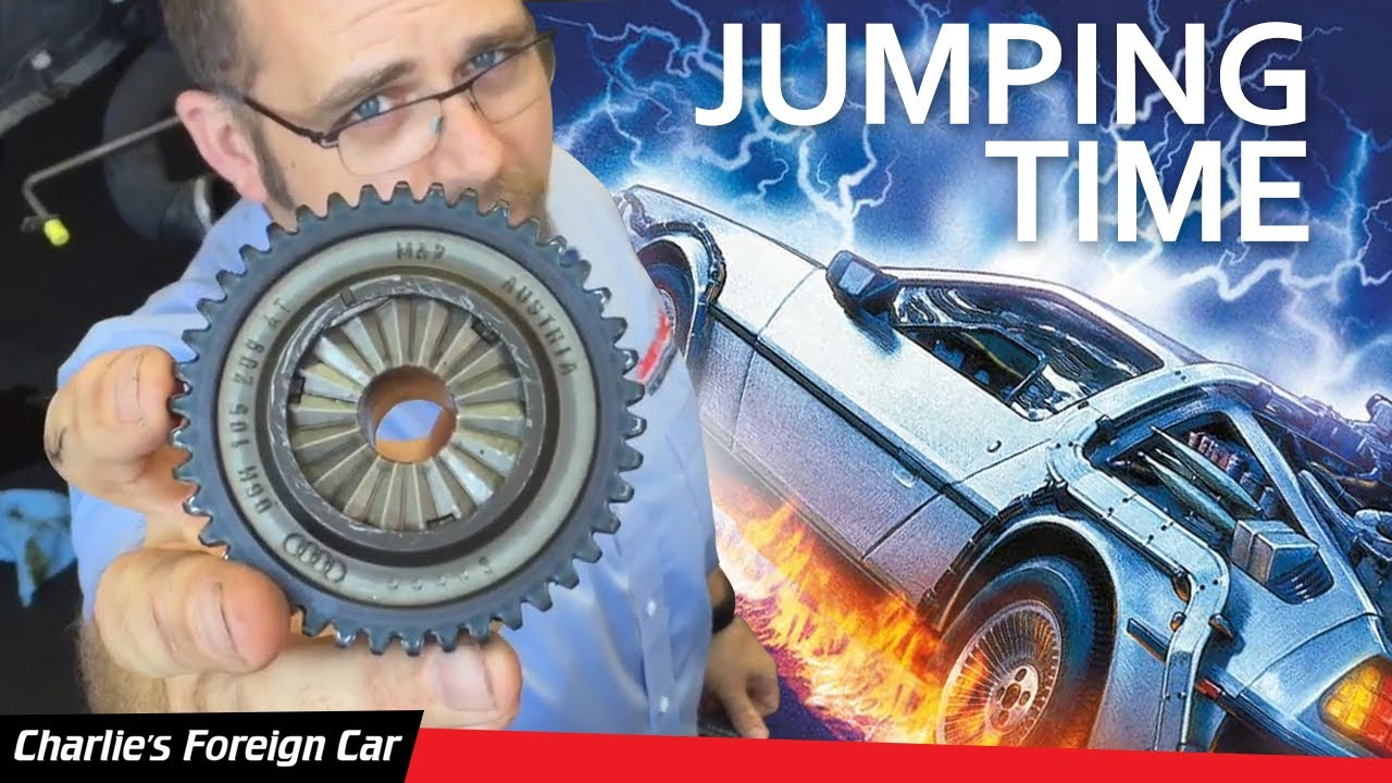 Timing Belt Replacement Cost >> Audi A4 Timing Chain Repair - YouTube