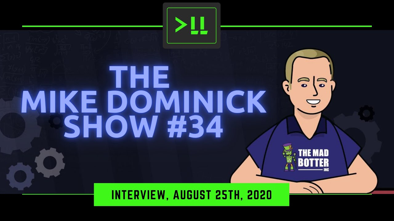 Interview from Episode #34 of The Mike Dominick Show (Audio Only)