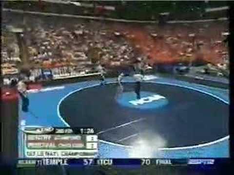 2004 NCAA Finals 157: Gentry (Stanford) vs Percival (Ohio)