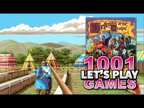 Defender of the Crown (Amiga) - Let's Play 1001 Games - Episode 154