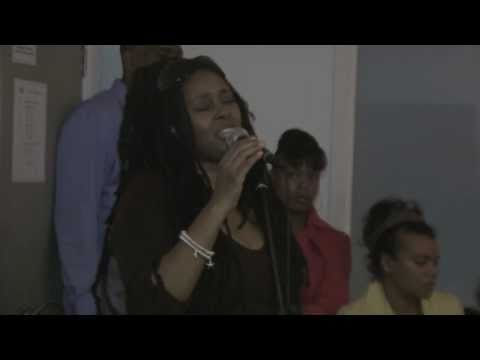 Caron Wheeler - Back to Life - Rehearsal for the Lovers Rock Gala Awards 2009 (New Name Music)