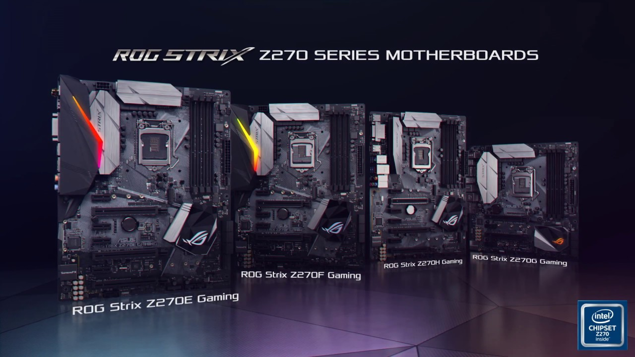 ROG Strix Z270 Series Motherboards Feature Video | ROG