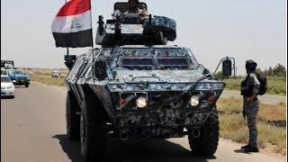 الشرطة الاتحادية العراقية تستعرض قواتها في الموصل