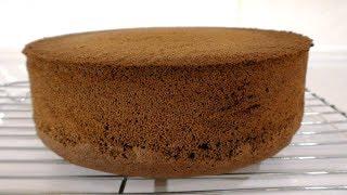 ШОКОЛАДНЫЙ БИСКВИТ Секреты приготовления Очень простой рецепт бисквита