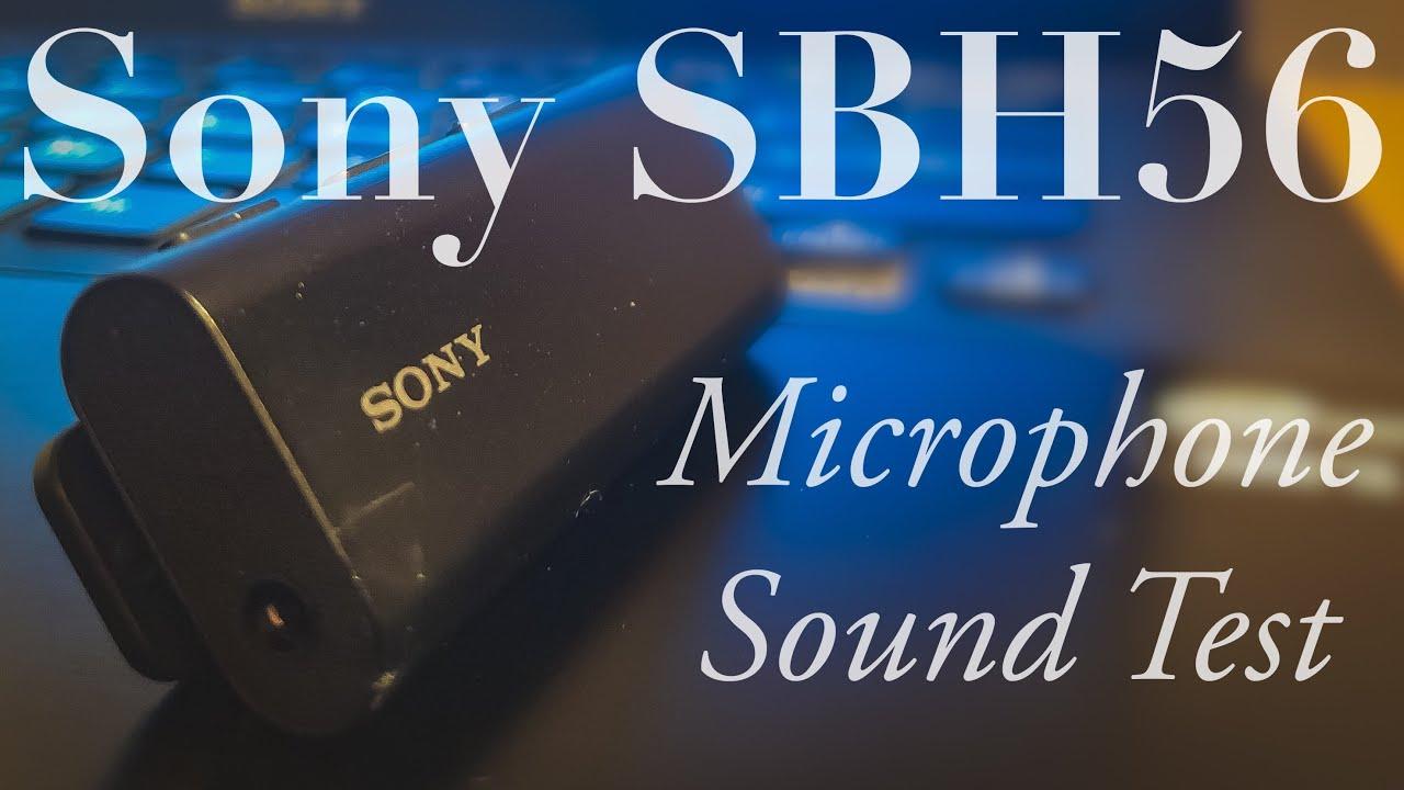 Sony Sbh56 Mic Test Real Life Youtube