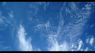 Time lapse of cirrocumulus and cirrus clouds over Nevada (4k)