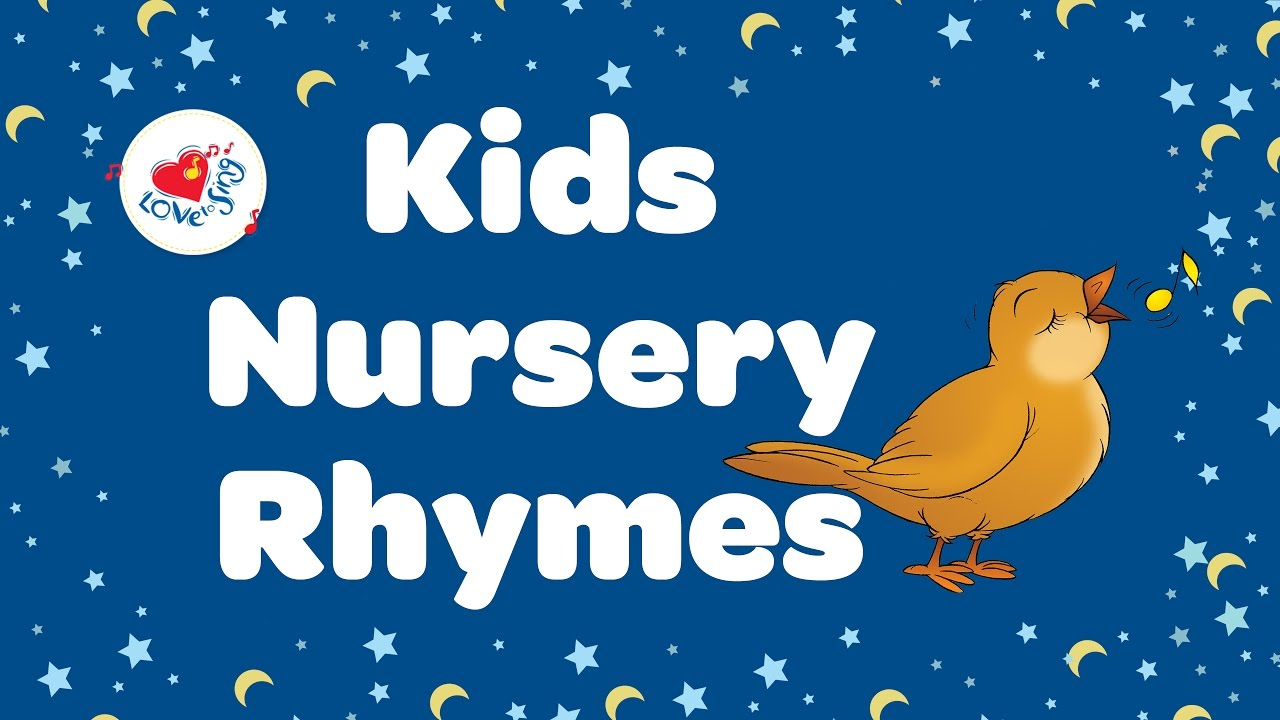 Nursery Rhymes Playlist With Lyrics For Kids Children Love To Sing