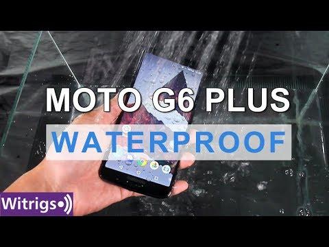 Moto G6 Plus Waterproof Test